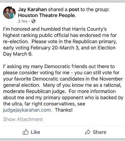 A Desperate Plea For Democrat Votes